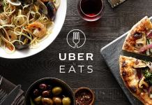 UberEATS, Uber's new food delivery service.