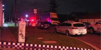 A taxi driver was stabbed during a robbery incident.