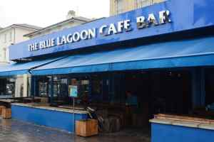 The Uber driver allegedly took the customer's phone and gave himself a cancellation fee outside Blue Lagoon Cafe Bar in Gloucester Road