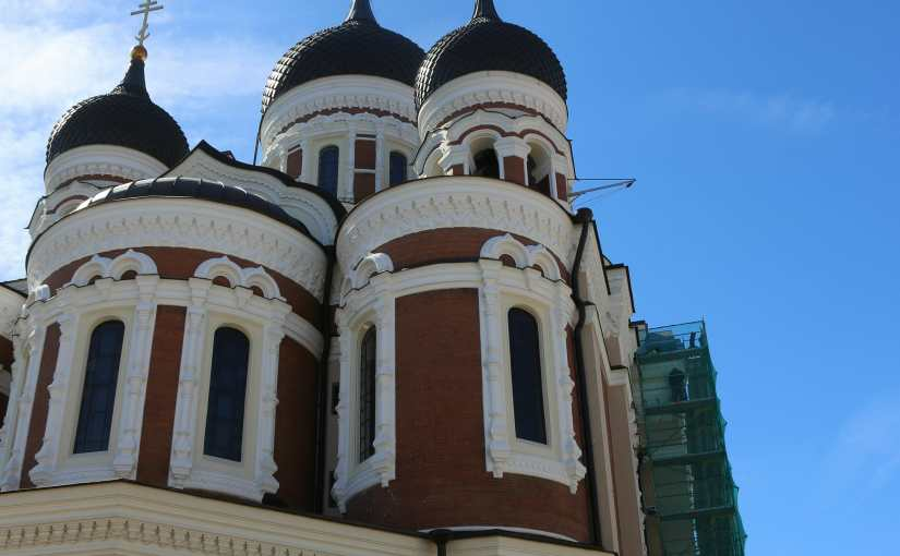 Scandinavia Day Thirteen:  An  Unscheduled  Visit To Enchanting Tallinn Estonia On The Last Day Of Our Tour.