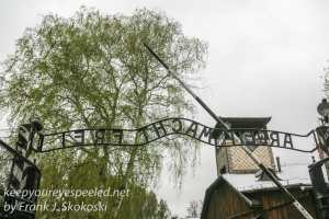 Auschwitz buildings one -7
