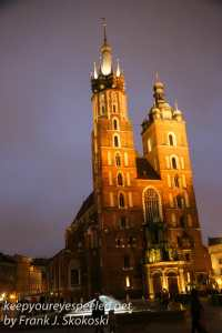Poland Day Eleven Krakow Chopin Concert and walk home -7