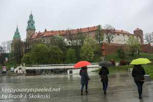 Poland Day Eleven Krakow evening Wawel castle-1