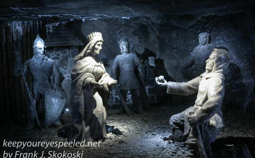 Poland Day Twelve: An Evening In The Wieliczka Salt Mine
