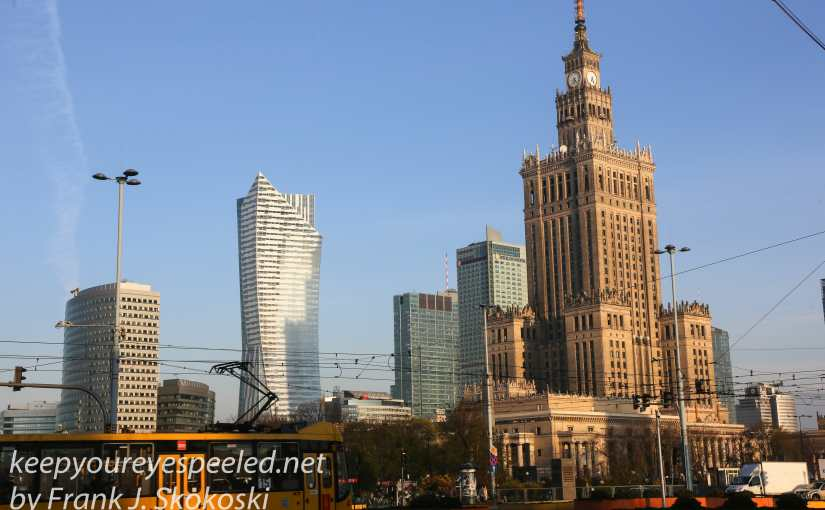 Poland Day Fourteen: Warsaw. A Meandering  Morning Walk To The Vistula River.