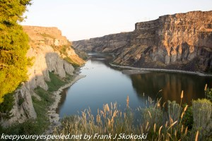 Snake River at Shoshone Falls