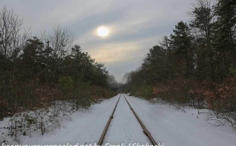Green Ridge: A Reflective Walk On The Railroad Tracks.