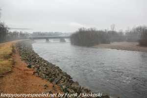 Lehigh river near Weissport