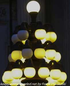 Lamp post City Hall Philadelphia