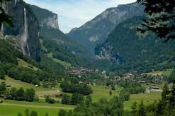 Φανταστικό χωριό στις Άλπεις
