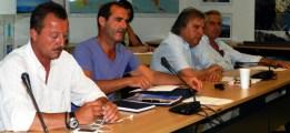 Κ. Κιτσάκης, Σπ. Θύμης, Γ. Χονδρογιάννης, Δημ. Χαρίτος