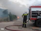 Πυρκαγιά στα Πουλάτα.