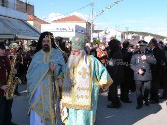 Εορτασμός των Θεοφανίων στο Αργοστόλι