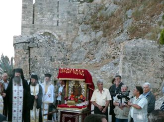 Λιτανεία στο Κάστρο Αγ.Γεωργίου