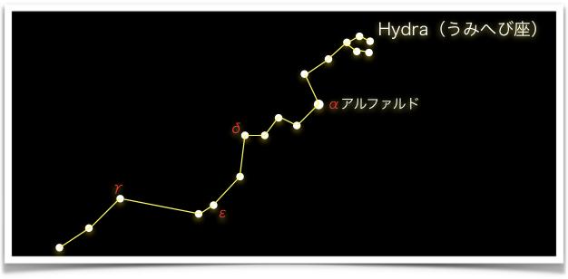 Hydra(うみへび座)