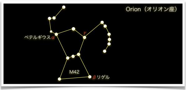 Orion(オリオン座)