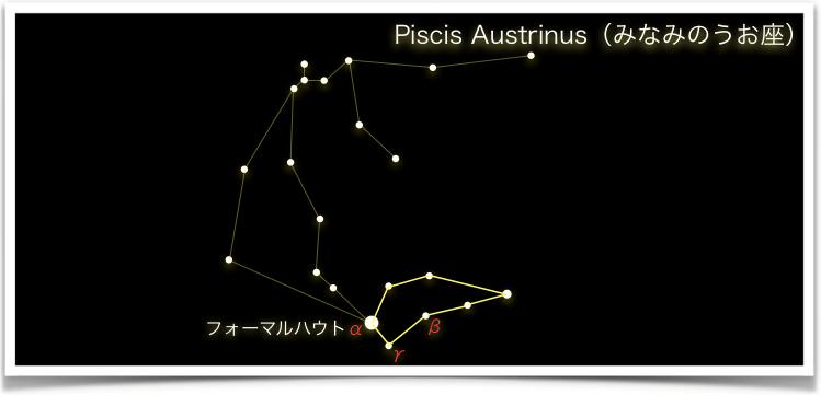 Piscis Austrinus(みなみのうお座)