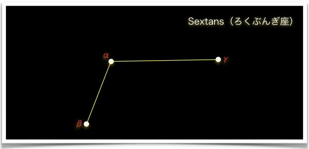 Sextans(ろくぶんぎ座)