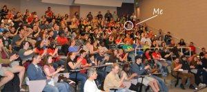 Denver Comic Con volunteering