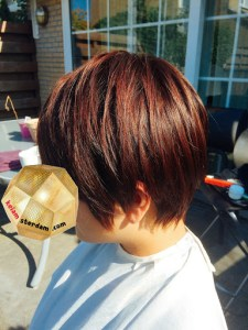 hair style for Female short〜Bob16