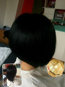 hair style for Female short〜Bob7