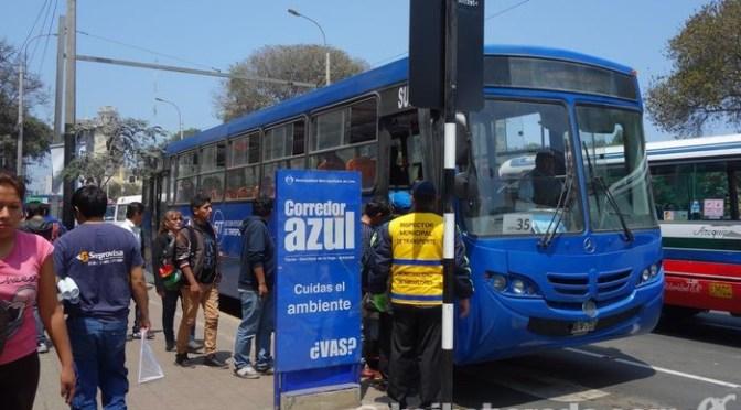 206系統Javier Prado線急行バス本日から運行