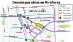 ミラフローレス区交通規制図