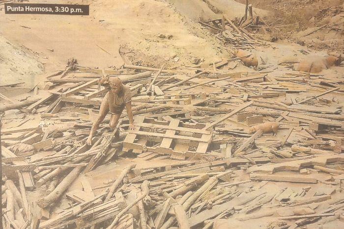 El Perú se desborda/ペルー氾濫