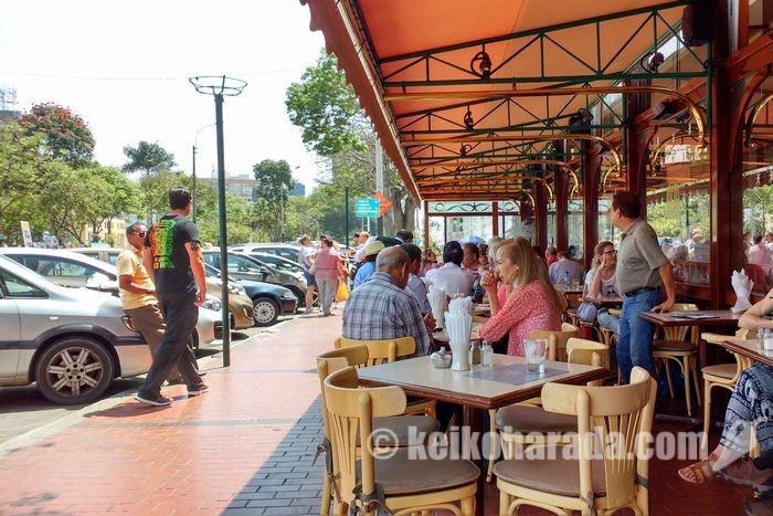 ミラフローレスの老舗カフェ ハイティ