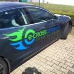 Fahrzeugbeschriftung Tesla