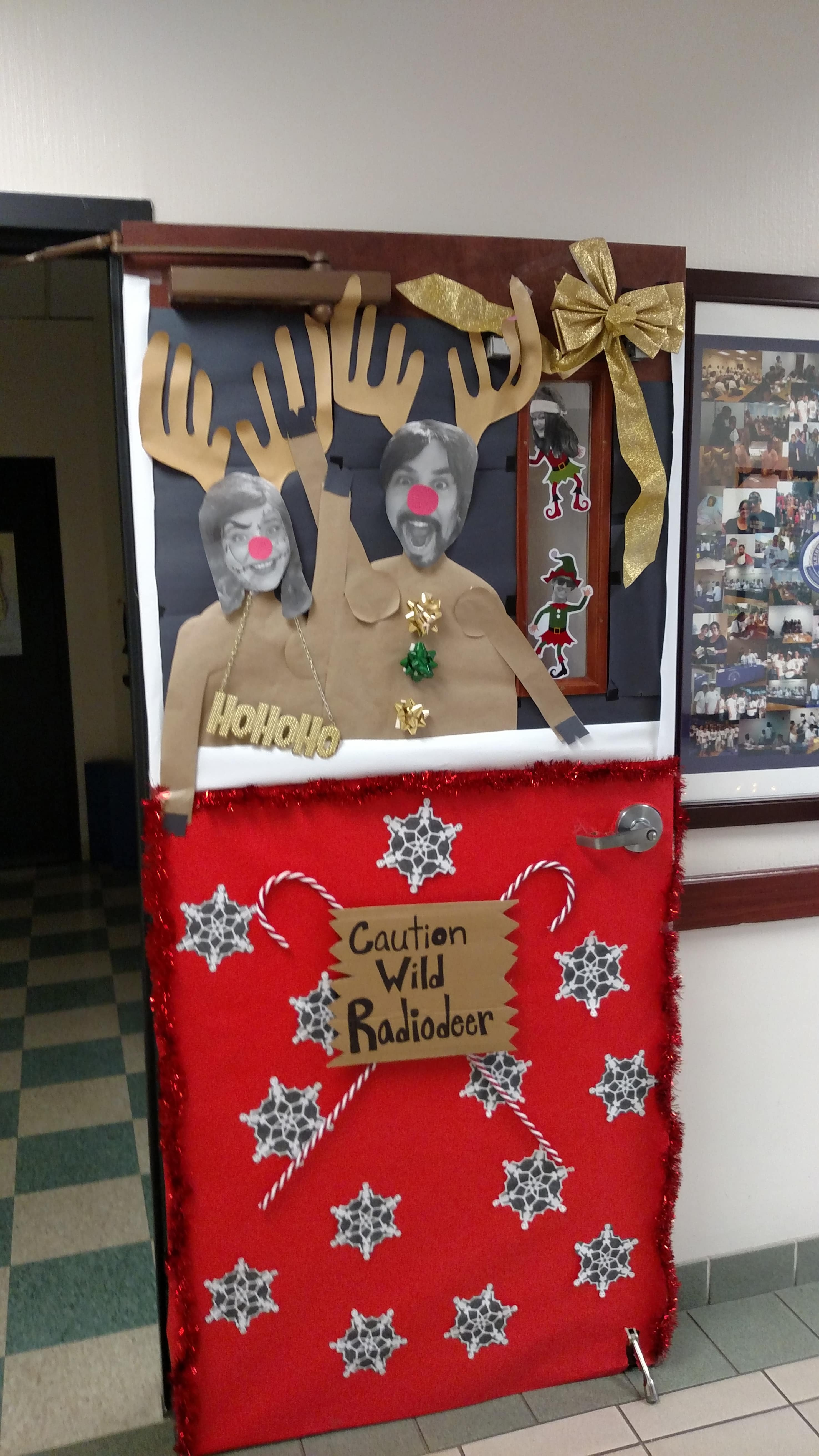 Orlando Holds A Door Decorating Contest Keiser University