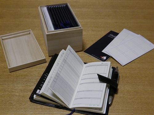 ここ数年愛用している手帳「モチベーションシート」の2013年版