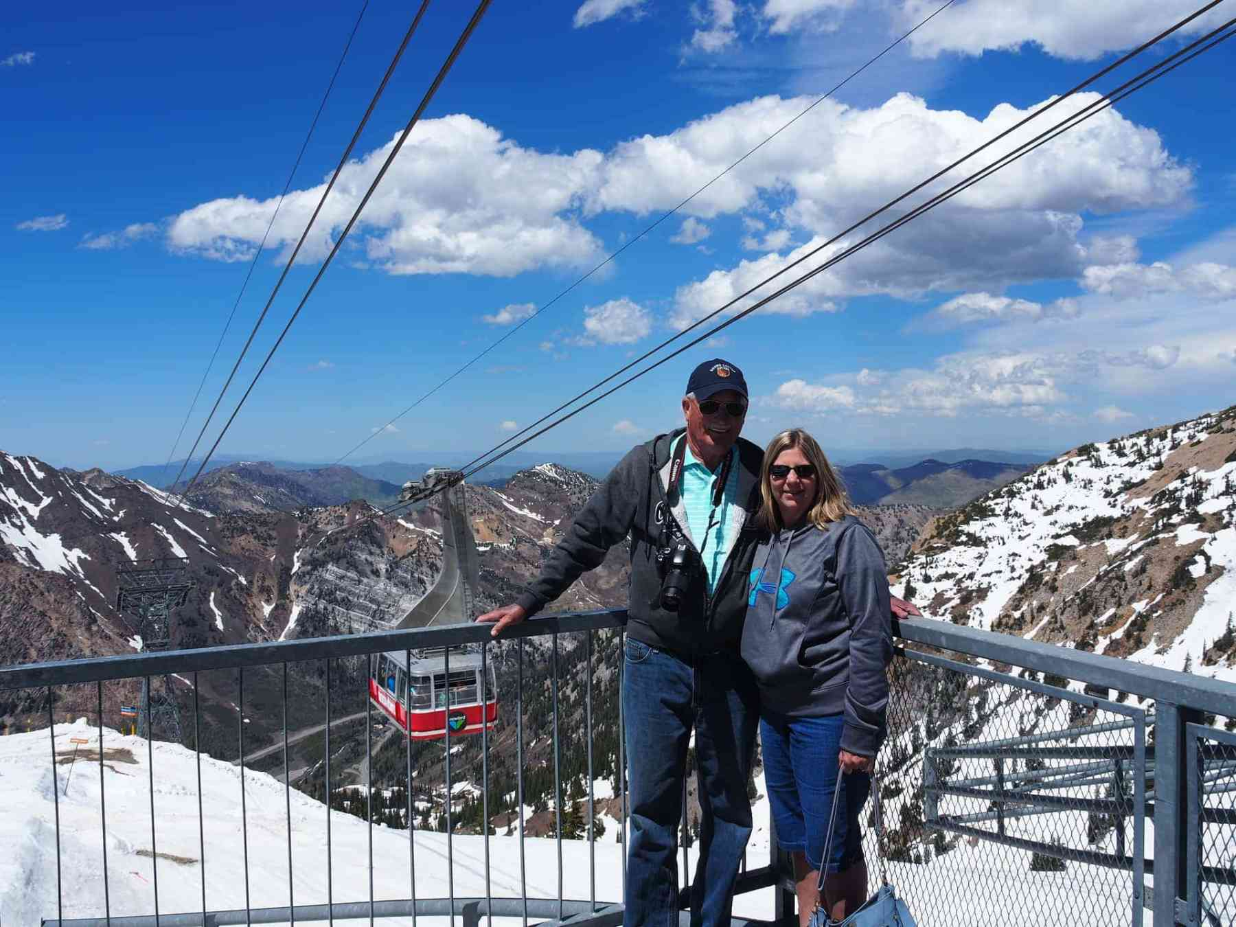 Be sure to ride the tram at Snowbird!