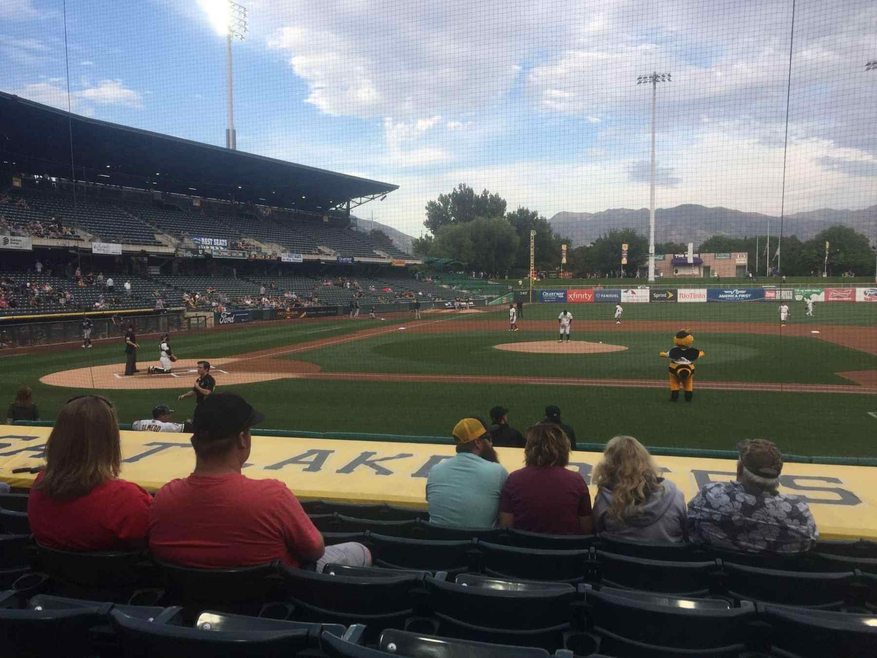 Salt Lake City Bee's- minor league baseball