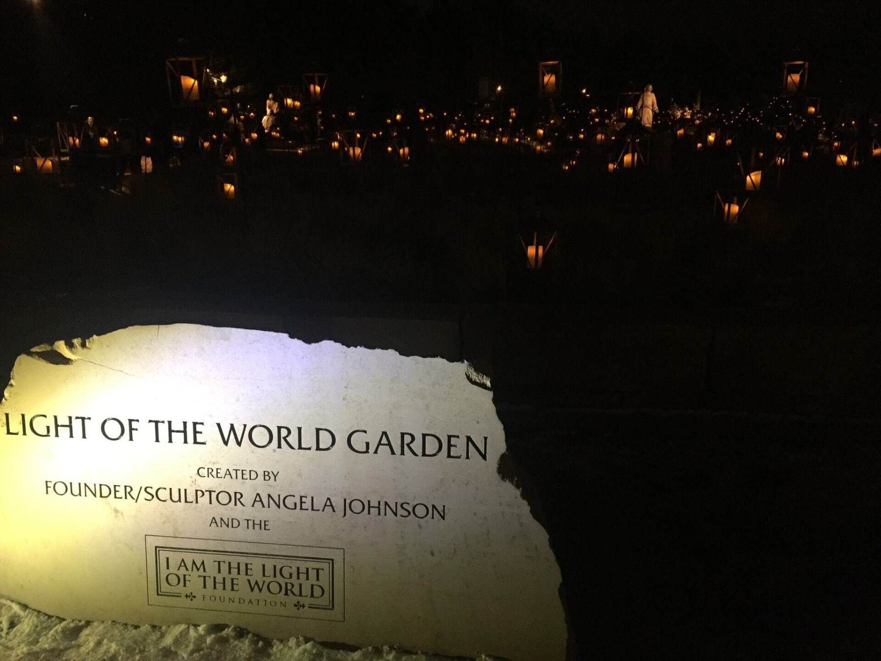 """Light of the World Garden"""