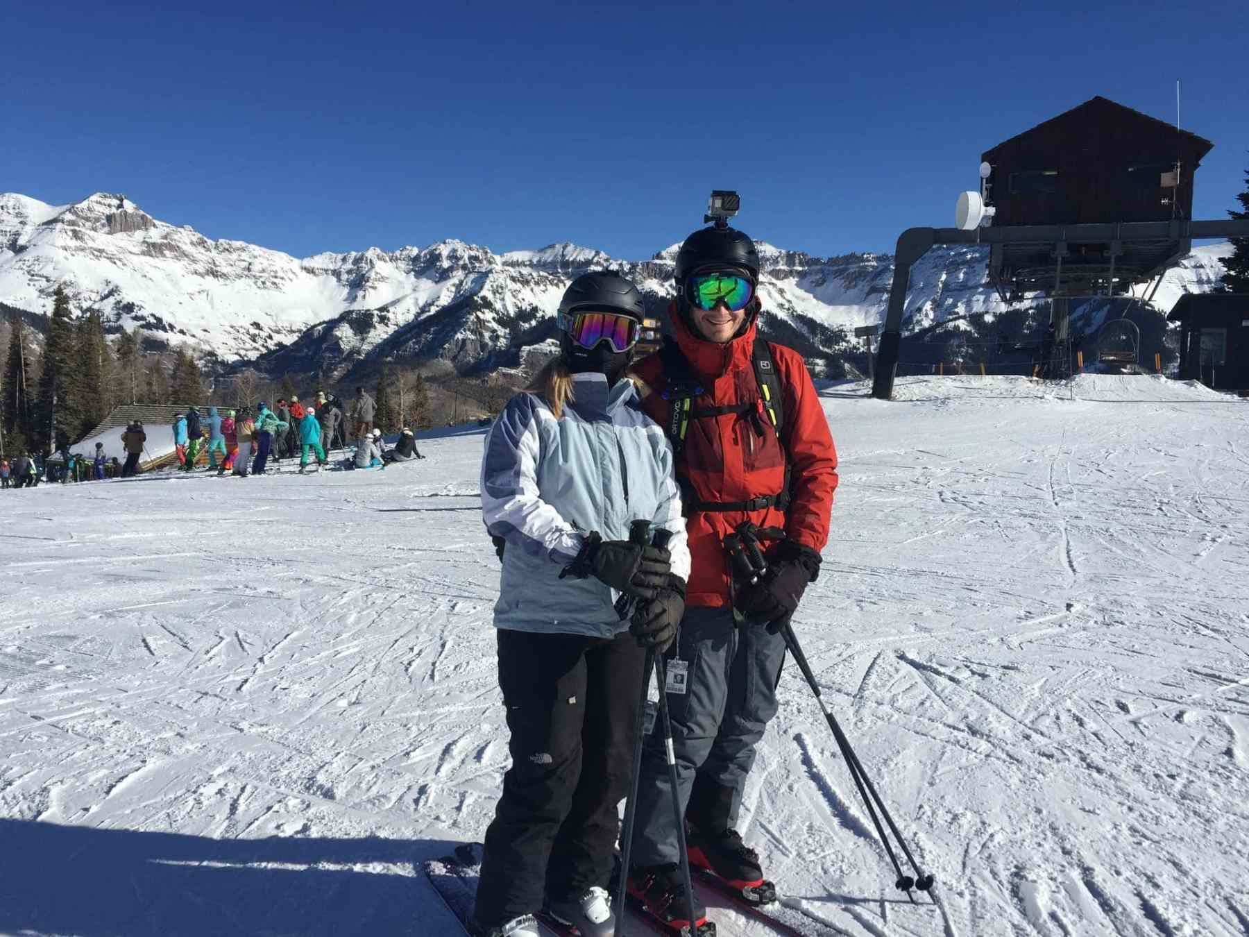 Skiing Telluride for the 1st Time