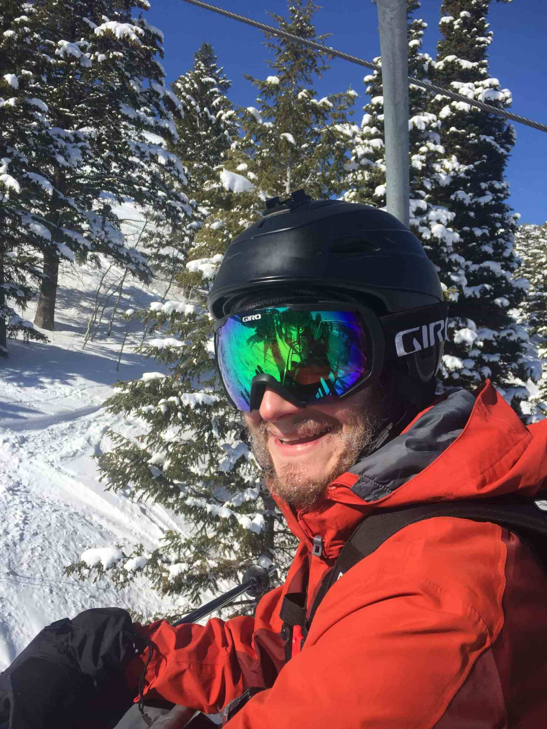 Powder Mountain has been on Keith's bucket list!
