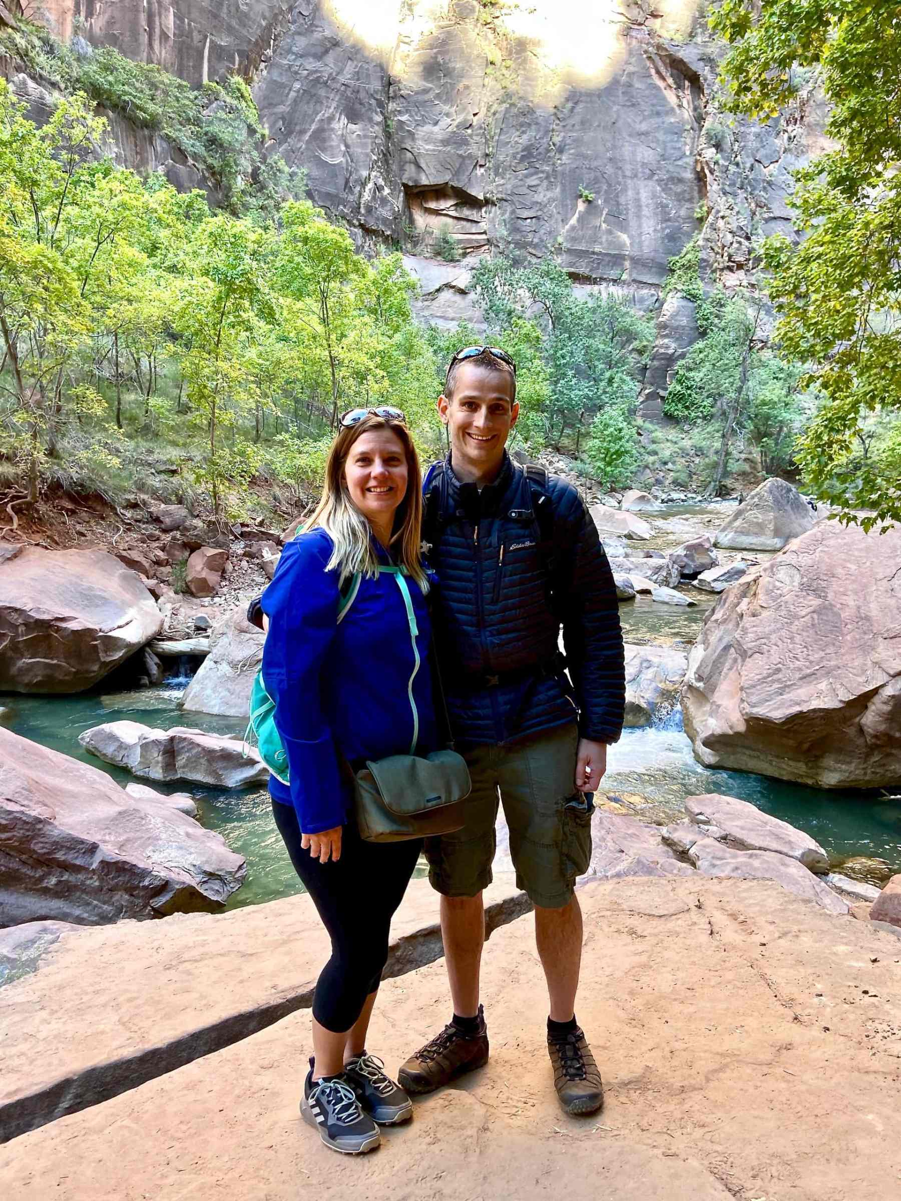 Loving our first visit to Zion