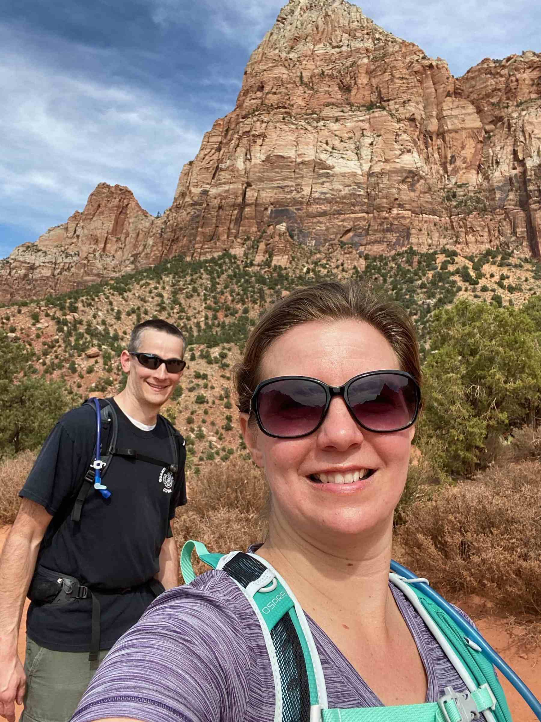 Very happy with our first visit to Zion National Park