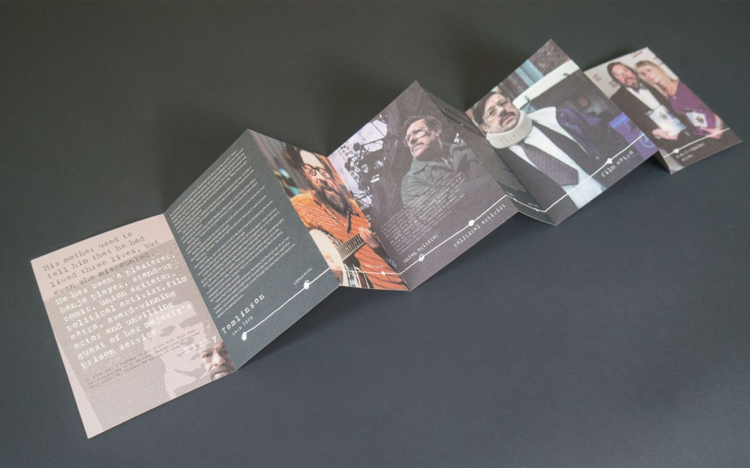 Book promotion materials design and print