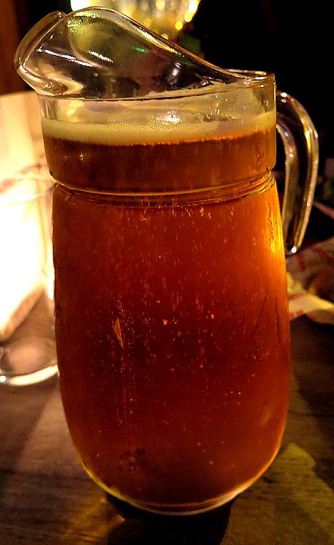 Red Dog Saloon Pitcher