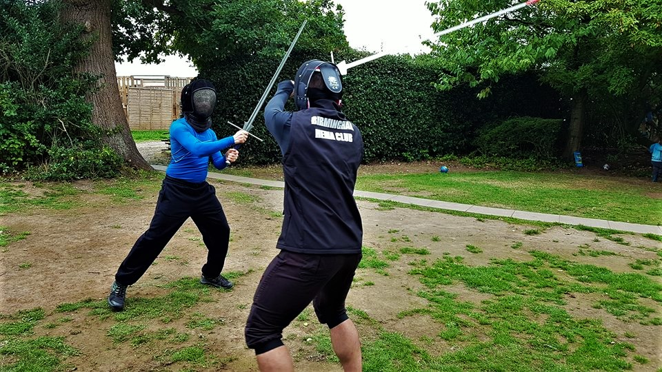 training with longswords