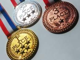 A set of medals