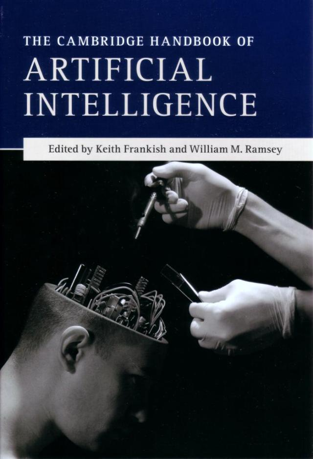 Cambridge Handbook of AI front cover