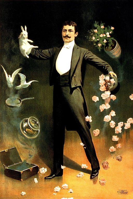 Magician poster, 1899