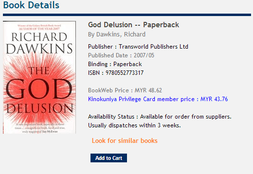 Kinokuniya_Richard_Dawkins_God_Delusion