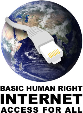 Internet Access is a Basic Human Right