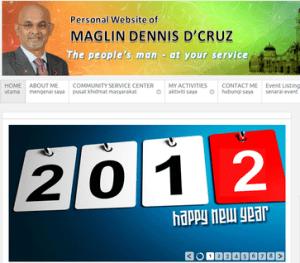 Datuk Maglin Dennis D'Cruz