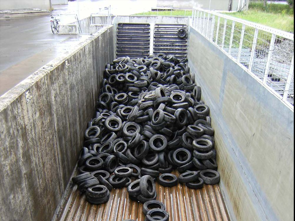 Recycled Tires Stationary Installation