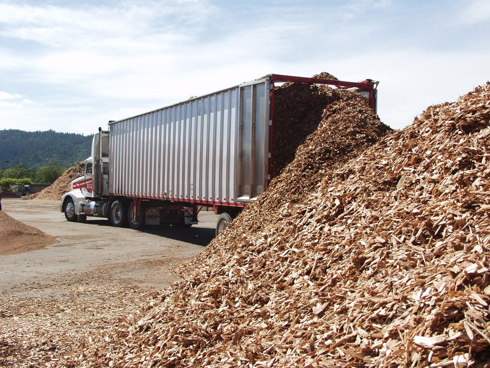 Unloading Landscape Materials